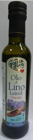 義大利得康特級亞麻籽油-250ml