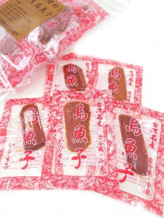 台灣野生烏魚子-一口吃(烤好即食烏魚子)一包150g
