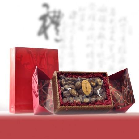 禮盒-嚴選花菇-口感Q彈香氣濃郁-500g