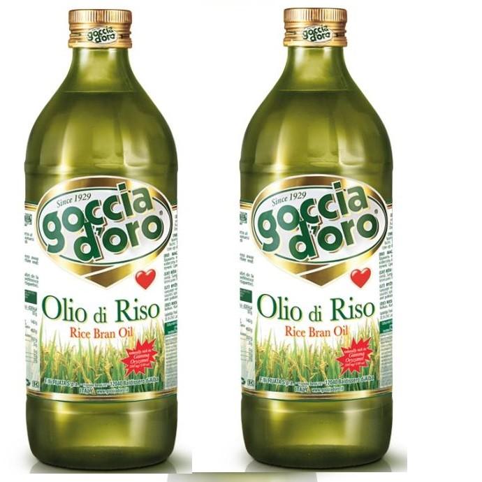義大利得康純玄米油(1公升)2瓶※特價