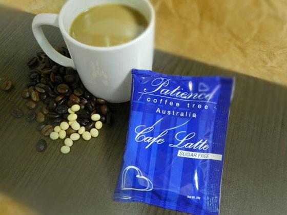 即溶無糖豆奶拿鐵咖啡