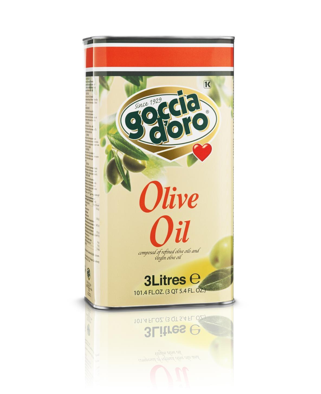 義大利得康純橄欖油(Olive Oil)-3公升