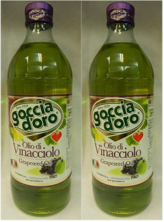 義大利得康特級葡萄籽油(大)2瓶