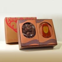禮盒-招牌埔里冬菇300g+6-8野生烏魚子一片