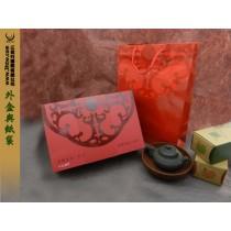 紙袋與禮盒外觀
