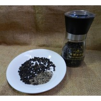 優質黑胡椒粒80g+研磨罐