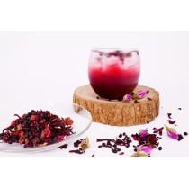 藍苺水果茶